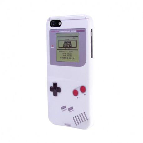 Coque iPhone Gameboy Blanche