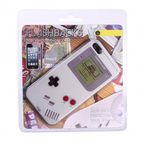 Cette coque personnalisée à l'effigie de la mythique Gameboy blanche protégera votre iPhone des chocs et rayures... Un cadeau idéal pour les fans intemporels de la console de jeux !