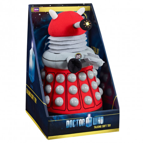 Peluche Sonore Dalek Rouge Dr Who