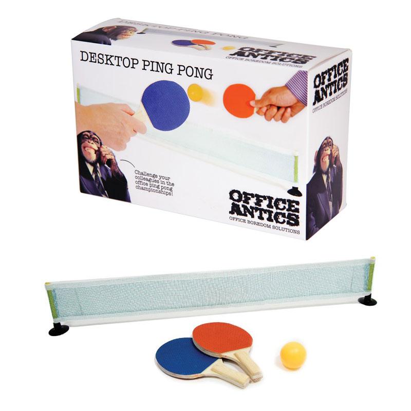 Set de mini ping pong pour le bureau jeu original de for Set de bureau design