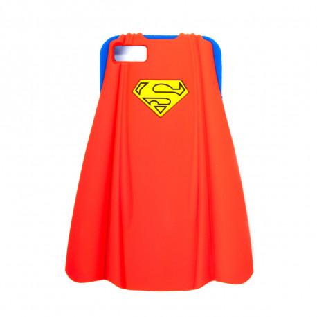 coque Superman avec cape en 3D, adaptée à votre iPhone 5