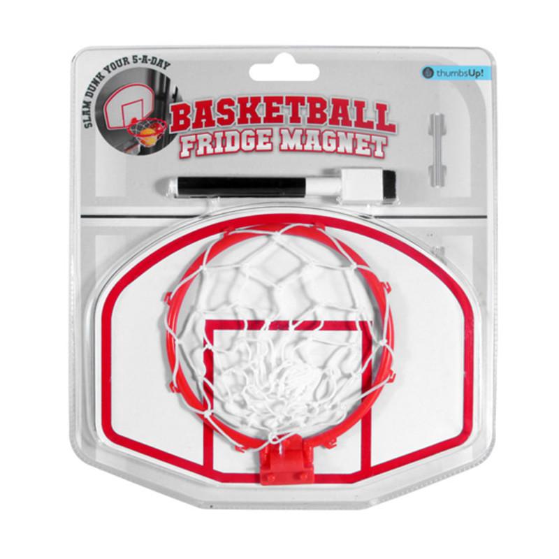 tableau magn tique basketball pour frigo cadeau original. Black Bedroom Furniture Sets. Home Design Ideas