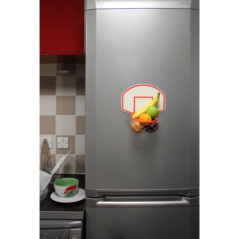 tableau magn tique basketball pour frigo cadeau original cuisine sur logeekdesign. Black Bedroom Furniture Sets. Home Design Ideas