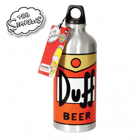 Une gourde Duff Beer