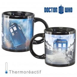 Mug Tardis Thermoréactif Dr Who