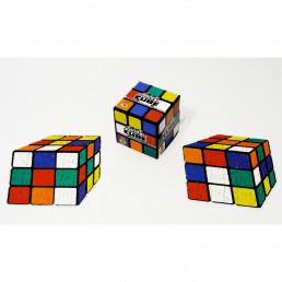 Lot de Deux Puzzles Rubik's Cube