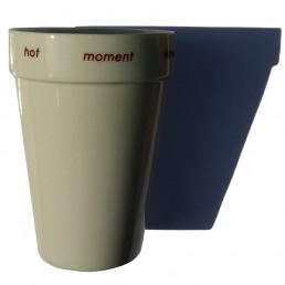 Tasse à Cappuccino Porcelaine Double Paroi QDO