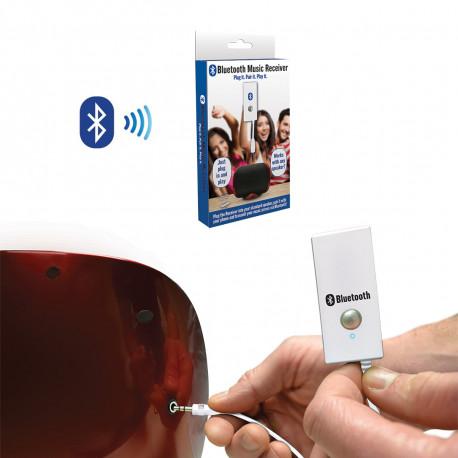 Un appareil indispensable pour écouter la musique à tout moment... Ce kit de réception de musique bluetooth vous permet de transformer vos appareils audio en véritables haut-parleurs bluetooth ! A adopter de toute urgence pour les fans de bons sons !