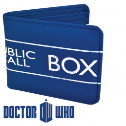 Portefeuille Tardis Dr Who