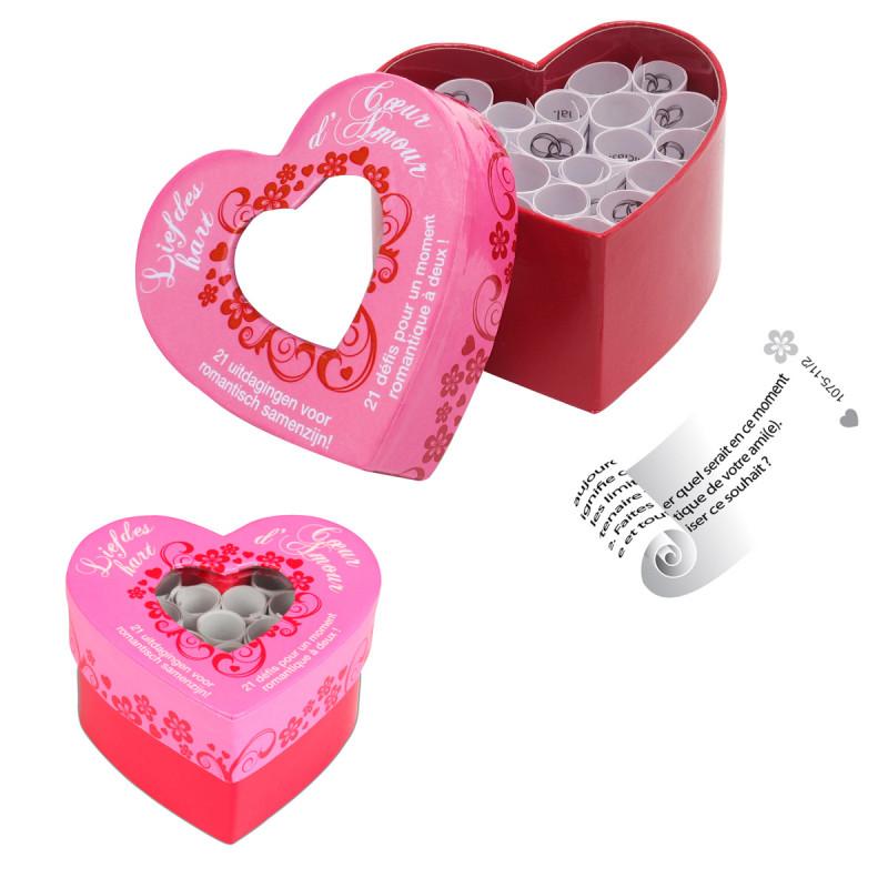 Jeu c ur d 39 amour cadeau romantique sur for Pack coquin