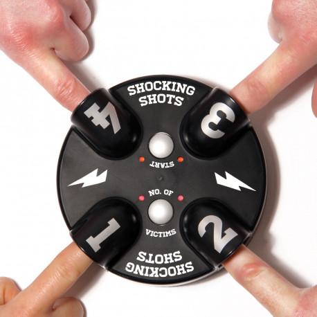 Le jeu à boire Shocking Shots est un jeu fun et original qui déclenchera nombre de fous rires lors de soirées entre amis ! Impulsions électriques et shots sont au programme... Originalité 100 % garantie et soirées inoubliables en perspective !