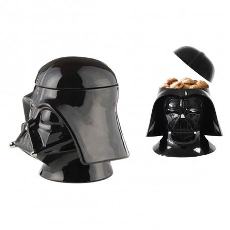 Boîte à gâteaux en céramique en trois dimensions à l'effigie de Dark Vador