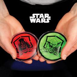 Chaufferettes Star Wars Dark Vador et Yoda