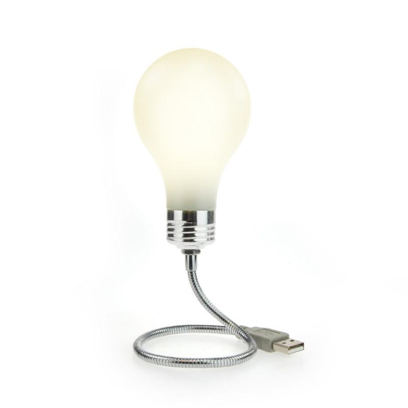 lampe usb ampoule phosphorescente gadget usb original sur. Black Bedroom Furniture Sets. Home Design Ideas