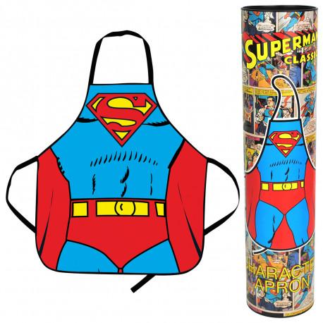 Mettez-vous dans la peau de votre super-héros favori à l'aide de ce tablier Superman