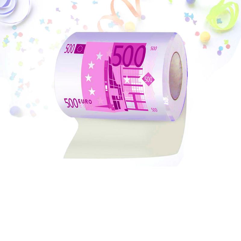 papier toilette 500 euros cadeau fun et insolite sur logeekdesign. Black Bedroom Furniture Sets. Home Design Ideas