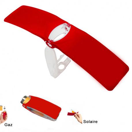 Découvrez la puissance de l'énergie solaire grâce au B*Fly, le briquet bi-énergie solaire et gaz qui fera des envieux… Un mini gadget ingénieux, écolo et original à posséder de toute urgence ! Optez pour votre coloris préféré !