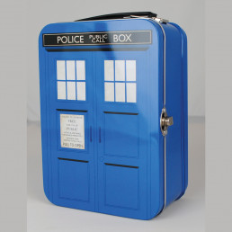 Mallette Tardis Dr Who Métallique