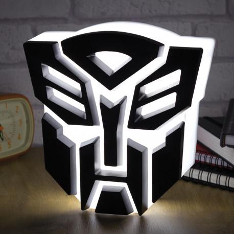 Lampe USB avec la forme d'un Autobot dans Transformers