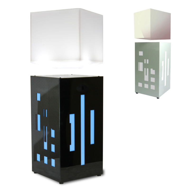 lampe en l vitation m gapolite cube cadeau design. Black Bedroom Furniture Sets. Home Design Ideas