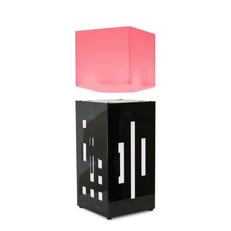 lampe en l vitation m gapolite cube cadeau design tendance sur. Black Bedroom Furniture Sets. Home Design Ideas