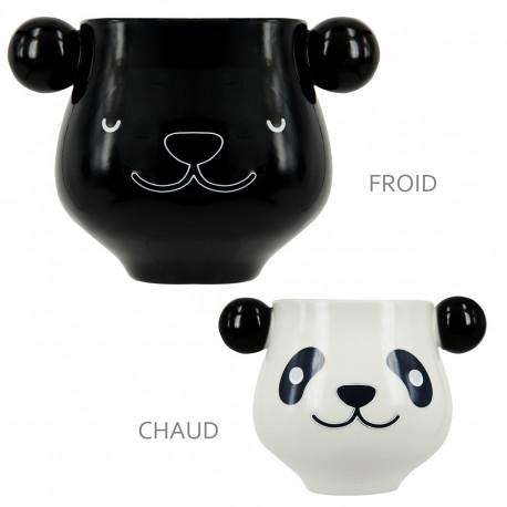 Les passionnés des pandas géants de Chine auront enfin leur mug dédié… A l'allure tendre et craquante, cette tasse panda est à adopter au bureau comme à la maison ! Changeant de couleur au contact de votre boisson, elle est totalement insolite !