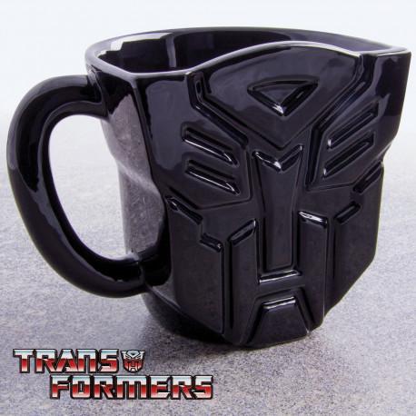 Mug 2D représentant un Autobot de Transformers