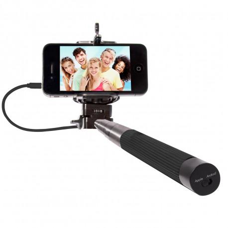 Voilà un accessoire high-tech très facile d'utilisation vous permettant de prendre vous-même vos photos de groupe ou selfies en toute simplicité ! Un cadeau geek pour les accros à leur smartphone et aux selfies !