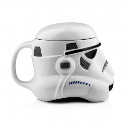 Mug 3D Stormtrooper Céramique Star Wars avec Couvercle