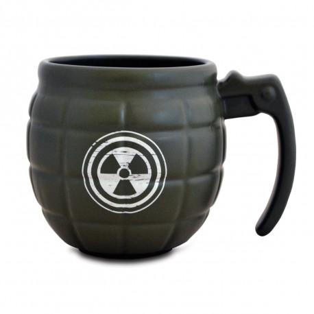 Un mug en forme de grenade