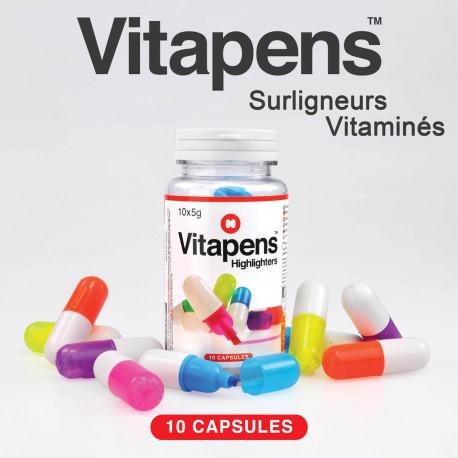Vitapens, les Surligneurs Vitaminés