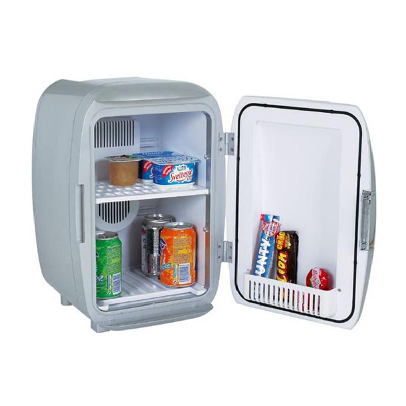 mini frigo argent design cadeau cuisine original sur logeekdesign. Black Bedroom Furniture Sets. Home Design Ideas