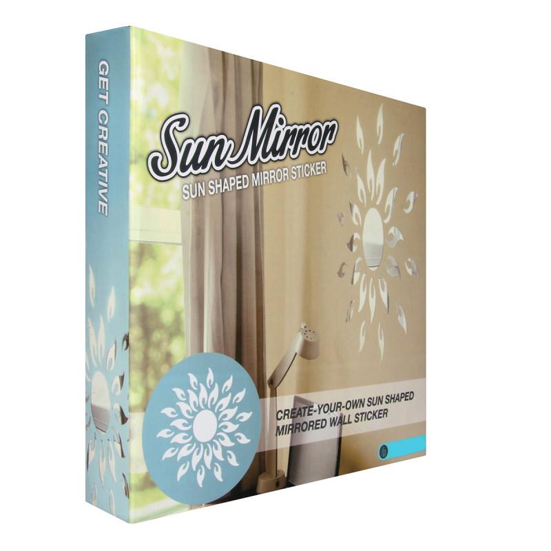 Miroir soleil cadeau d co design sur for Miroir design soleil