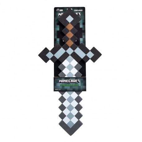 Le phénomène Minecraft débarque dans votre quotidien avec cette maxi épée en mousse rigide so geek ! D'une hauteur de 60 cm, ce jouet est une véritable réplique pixélisée vous permettant de survivre dans notre monde hostile…