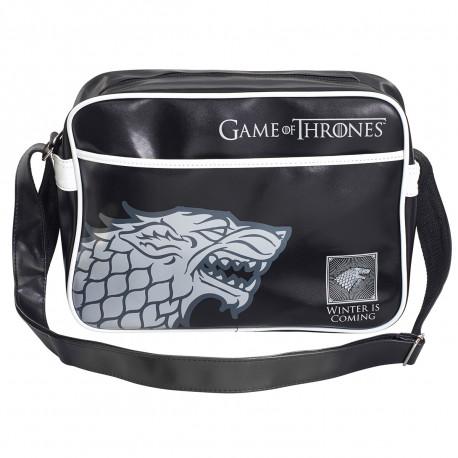 cette sacoche stylée affiche la devise des Stark « Winter is coming