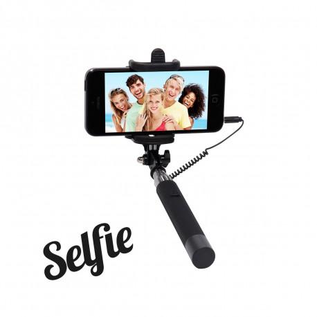Voilà un accessoire high-tech de poche très facile d'utilisation vous permettant de prendre vous-même vos photos de groupe ou selfies en toute simplicité ! Un cadeau geek pour les accros à leur smartphone et aux selfies !