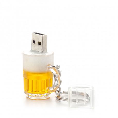 Clé usb de 8 Go en forme de chope à bière