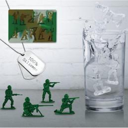 Moule à Glaçons Soldats