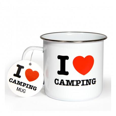 Si vous êtes un fan inconditionnel du camping, vous allez jeter votre dévolu sur ce mug en émail sympathique ! Cette tasse camping au look vintage et très robuste se révélera absolument indispensable…