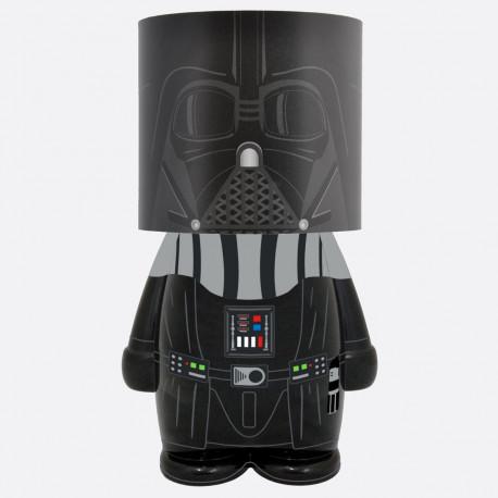 Rejoignez le côté obscur avec cette lampe d'ambiance Star Wars ultra geek ! A l'effigie du sombre Dark Vador, cette lampe de chevet ajoutera une touche résolument geek à votre intérieur…