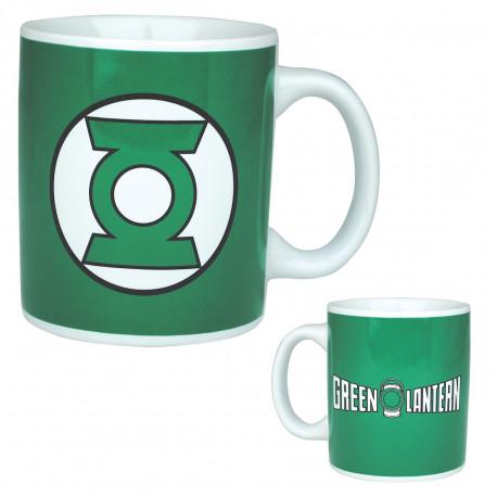 Mug Justice League à l'effigie de Green Lantern, couleur verte