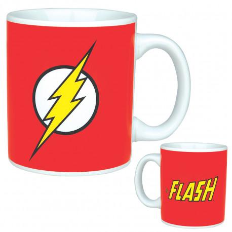 Soyez d'attaque pour affronter la journée avec ce mug Flash ultra geek ! Les super-héros de la Ligue des Justiciers débarquent dans notre univers pour nous mettre de bonne humeur et positionner la geek-attitude à l'honneur !