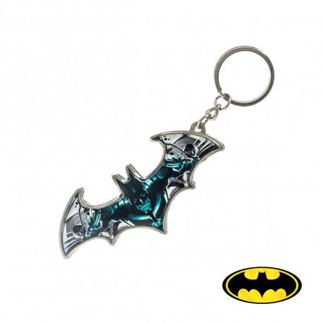 Ce porte-clés Batman métallique met à l'honneur le logo de la chauve-souris de Batman pour ajouter une touche geek à votre trousseau de clés ! Ce porte-clés geek est un indispensable pour les amateurs du super-héros !