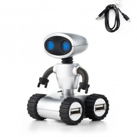 Pour posséder un bureau originalement geek, ce hub usb 4 ports en forme de robot sera parfait ! Allumant ses yeux à la connexion, ce Hub Usb Robot insolite est l'accessoire high-tech pratique à détenir…
