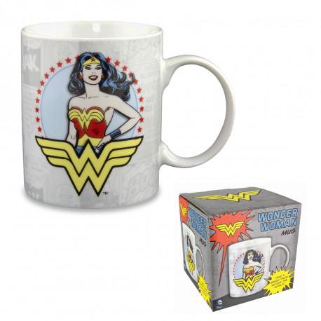 ce mug Wonder Woman façon comics