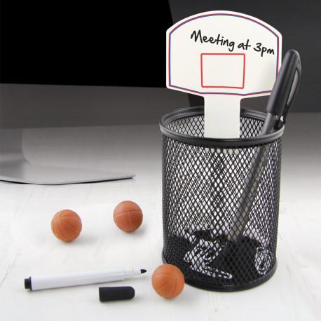Des id es cadeaux pour fan de basketball - Panier de basket pour bureau ...