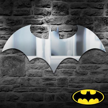 Miroir forme chauve-souris Batman