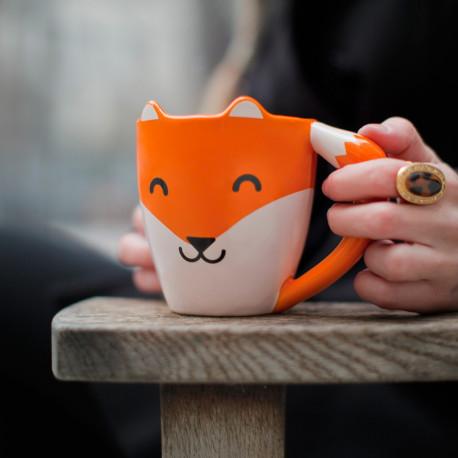 es passionnés des petits renards roux auront enfin leur mug dédié