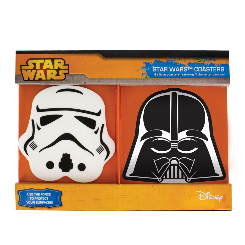 Star Wars Alcool Verres charactere 4 motifs NOUVEAU TOP BOX