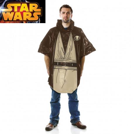 Poncho Jedi sous licence officielle Star Wars